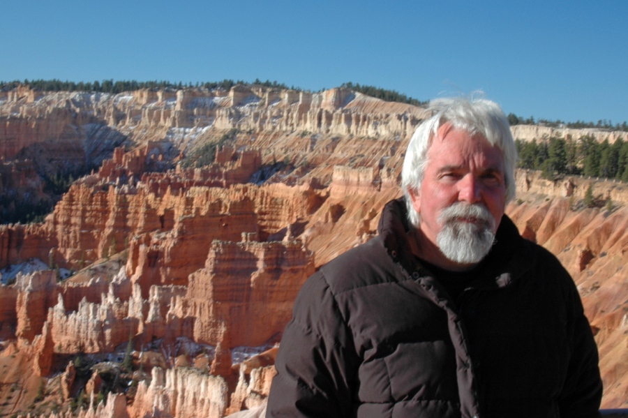 Dan, the World's Greatest Tour Guide, at Bryce