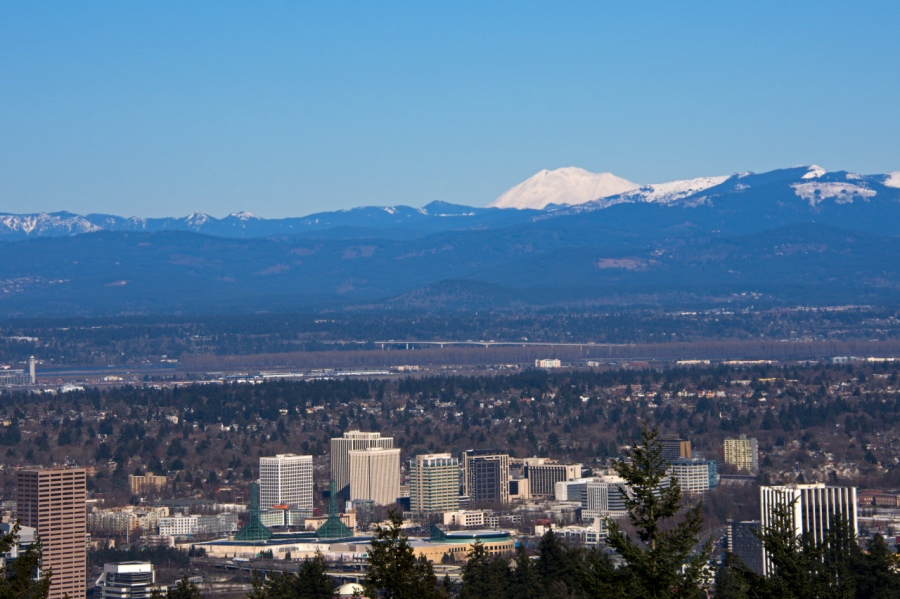 Mt. Adams from Council Crest