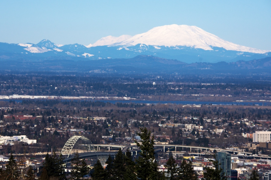 Mt. St. Helens from Council Crest