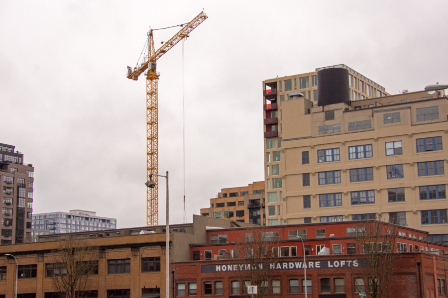 Constant construction activity in the Pearl