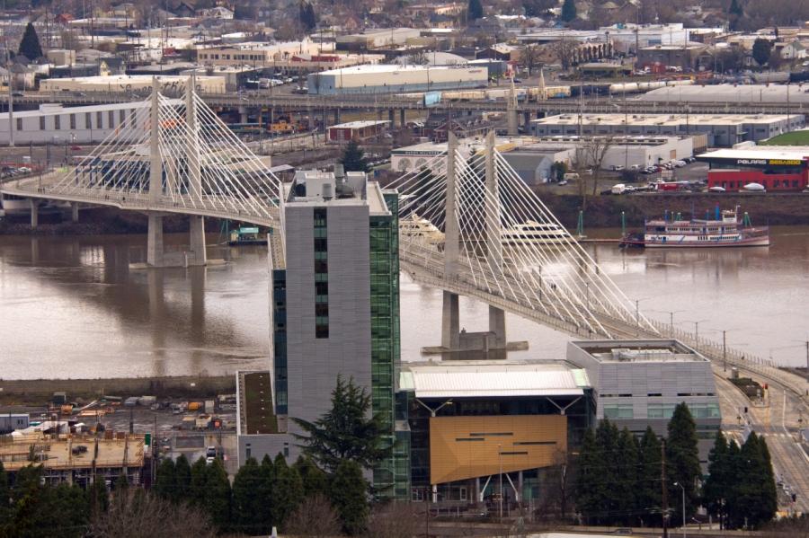 Tillikum Bridge (for everything but cars)