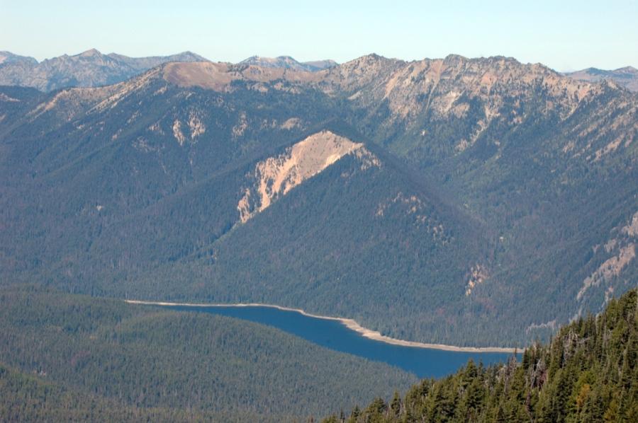 American Ridge above Bumping Lake
