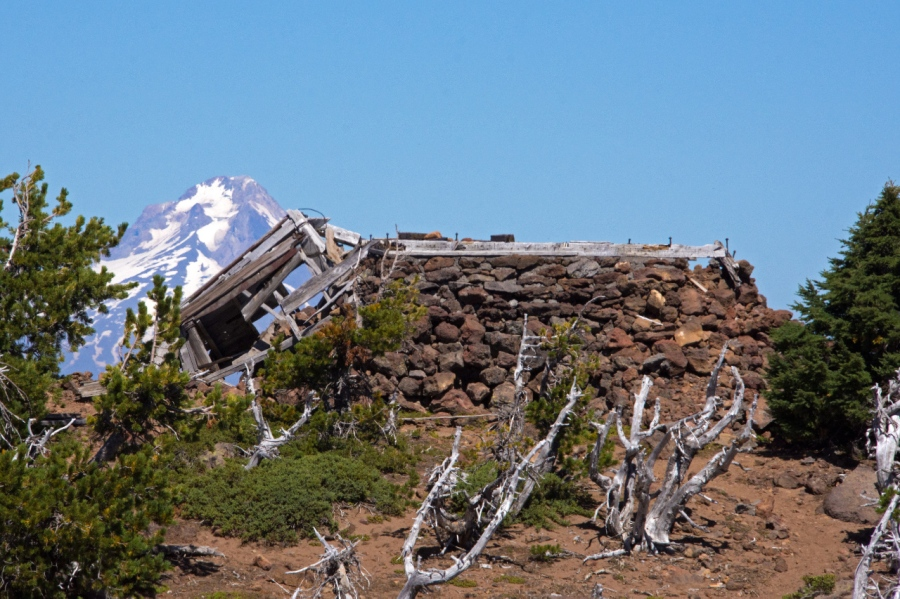 Reaching the Summit of the Third Highest Peak in Northwest Oregon