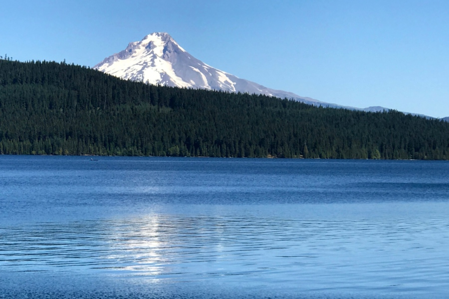 Timothy Lake and Mt. Hood too