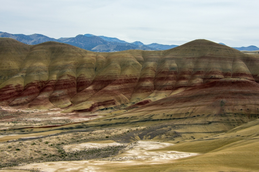 The Painted Hills of the John Day Fossil Beds