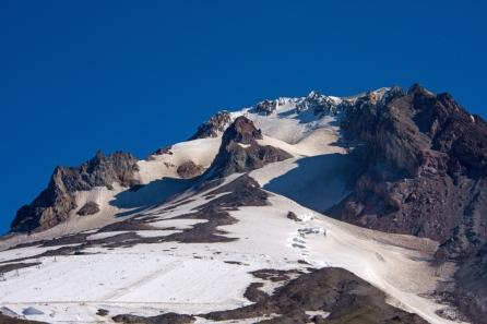 Palmer Run below summit of Mt. Hood