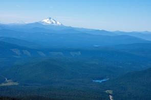 Mt. Jefferson above Trillium Lake
