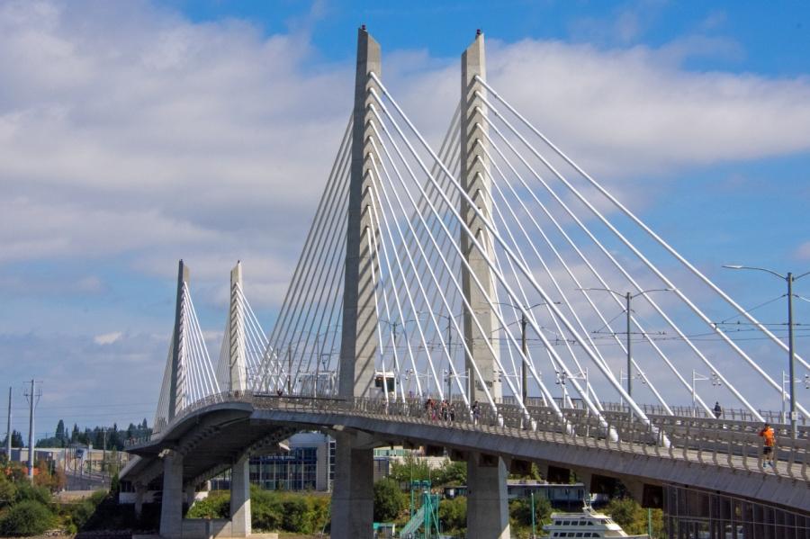 Downtown Portland: A City ofContrasts